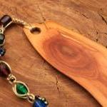 Wooden bookmark of Manzanita wood w..